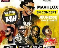 Show 100% Kamer au Palais Polyvalent des sports de Yaoundé