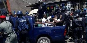 C'est le revers de la répression des manifestations politiques