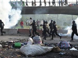 Les manifestations reprennent sur l'autoroute du nord dans le sens d'adjame -Yopougon