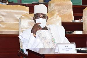 Cavaye Yeguie, président de l'assemblée nationale