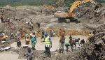 Samba Sosthené, est mort après s'être noyé dans une fosse qui avait été creusée par la société