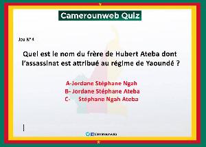 Camerounweb quiz 4