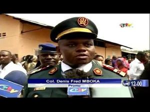 Il est colonel médecin en service à la garnison militaire de Douala.