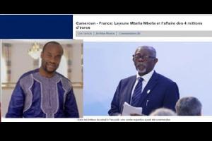 Il persiste à vouloir lyncher Son excellence Samuel Mvondo Ayolo et Monsieur Célestin Mfoula