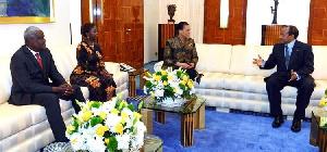 Moussa Faki Mahamat, Louise Mushikiwabo et Xavier Puppinck étaient à Yaoundé