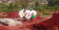 Il repose désormais au cimetière de Bonaberi à Douala où il a été enterré