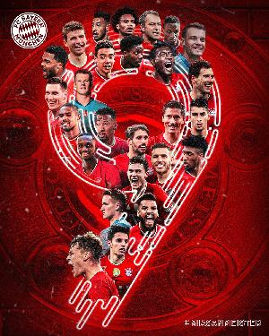 Le Bayern Munich est sacré champion d'Allemagne pour cette saison 2020-2021