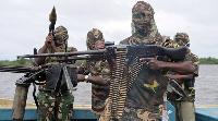 Des djihadistes du groupe Boko Haram ici en image