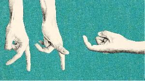 Le moulage consiste à utiliser les mains pour façonner un objet devant soi