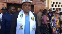 Grégoire Owona, ministre du Travail et de la Sécurité Sociale