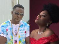 Le réalisateur Adah Akenji et chanteuse Sandrine Nnanga
