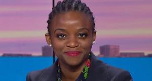 Julie Owono est en vacances depuis deux semaines avec son époux de l'autre côté des États-Unis