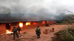 Armee Soldats Menace Incendie