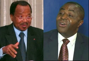 Paul Biya et Ayuk Tabe Sisiku