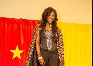 Elle s'appelle Nestride Sorelle Yumga, elle est bamileke.