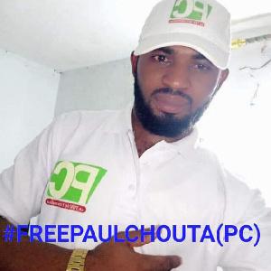 Paul Chouta  est en prison sans procès depuis plus d