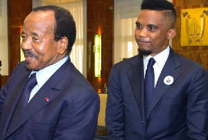 Samuel Etoo Et Paul Biya Camerounweb
