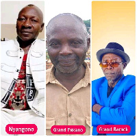 Nyangono du Sud, Le Grand Pekano et Le Grand Barack.