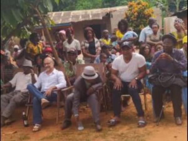 Bengono Raoul et son mari ont quitté le Cameroun