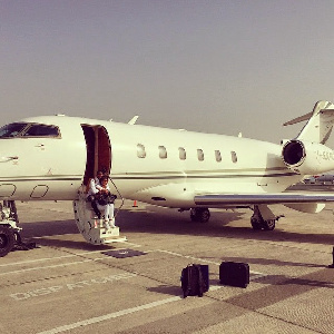 Samuel Georgette Eto'o Private Jet