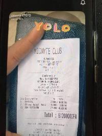 La facture payée par Etienne Eto'o