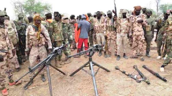 L'armée tchadienne  en action