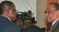 Maurice Kamto et Grégoire Owona