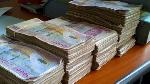 La police a récupéré 3 millions de pesos auprès des suspects