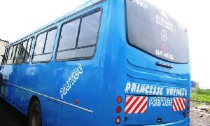 Un bus de l'Agence Princesse Voyage
