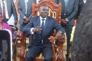 Amougou Belinga, propriétaire de la chaîne Vision4