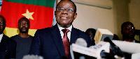 Maurice Kamto, président du MRC
