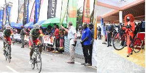 La 21e  édition du Grand Prix Cycliste International Chantal Biya