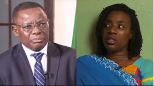 Maurice Kamto et Michelle Ndoki