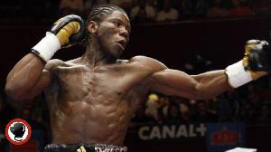 Le boxeur Hassan Ndam Njikam