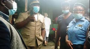 Le sous-préfet de Douala V s'est rendu au marché Bonamoussadi le 18 mai dernier