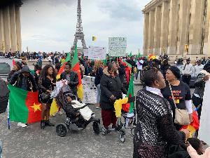 Kamto Partisans France Marche Diaspora