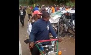 La victime est morte sur place après une violente collision entre deux voitures