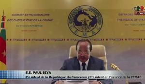 Paul Biya président du Cameroun et de la CEMAC