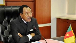 Le ministre Nganou Djoumessi