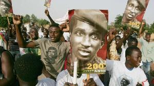 Des poster de Thomas Sankara