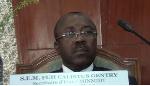 Le don est de Fuh Calistus Gentry,  Secrétaire d'Etat auprès du ministre des Mines