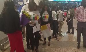 Délégation Camerouraise pour le tournoi international de Boxe