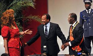Paul Biya et Allasane Ouattara
