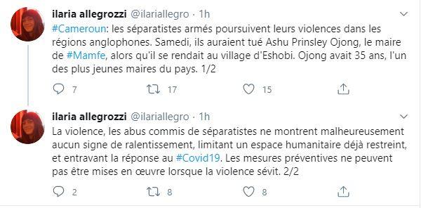 tweet HRW