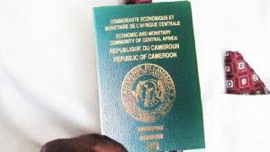 Un passeport camerounais