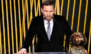 Lionel Andrés Messi a reçu son sixième ballon d'or