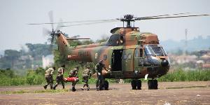 L'armée camerounaise en action