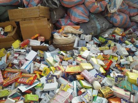 Région de l'Est: 324 cartons de médicaments contrefaits saisis