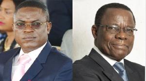 Neossi Emmanuell et Maurice Kamto