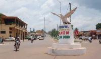 Un lieu très connu de la ville de Yaoundé